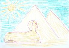 egypt vektor illustrationer
