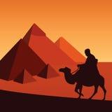egypt royaltyfri illustrationer
