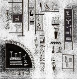 Egypt abstract graphic background Stock Photo