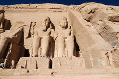 Egypt - Abu simbel Royalty Free Stock Photo
