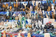 Bazaar at Nubia Egypt. Egypt, Aswan, Antiques Bazaar of Nubia Egypt Stock Image