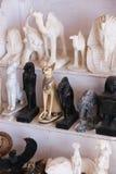 Bazaar at Nubia Egypt. Egypt, Aswan, Antiques Bazaar of Nubia Egypt Royalty Free Stock Images