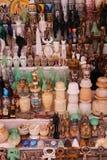 Bazaar at Nubia Egypt. Egypt, Aswan, Antiques Bazaar of Nubia Egypt Royalty Free Stock Photography