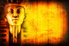 Egypt background2. Picture of a egypt background with pharaon Stock Photo