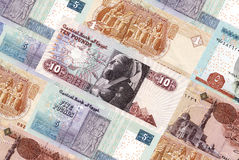 Egypt bills Stock Photography