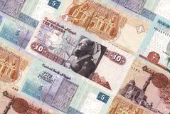 Egypt bills Stock Photography
