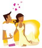 egypt bröllopsresasommar stock illustrationer