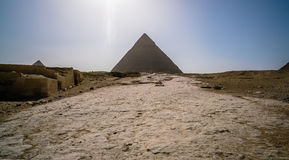Egypt Cairo pyramids desert Royalty Free Stock Photography