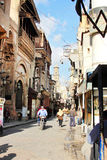 Egypt cairo street view in africa Royalty Free Stock Photos
