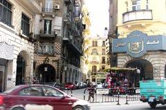 Egypt cairo street view Royalty Free Stock Photo