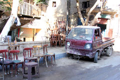 Egypt cairo street view Royalty Free Stock Photography