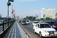 Egypt cairo street view Stock Images