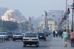 Egypt cairo street view