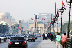 Egypt cairo street view Stock Photos