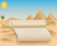 Egypt card Stock Photo