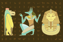 Egypt character design Royalty Free Stock Image