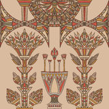 Egypt colorful ornament. Vintage vector Stock Photography