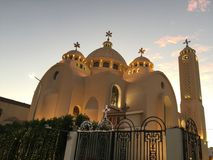 Egypt, Coptic Orthodox Church all saints who live in Heavens. The Coptic Orthodox Church is one of the most ancient Churches in the world, founded in the first Royalty Free Stock Photography