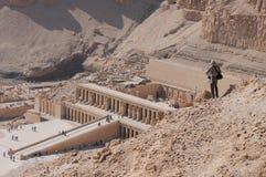 Egypt - Deir al Bahari Royalty Free Stock Photos