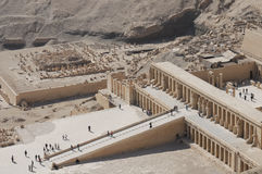 Egypt - Deir al Bahari Royalty Free Stock Images