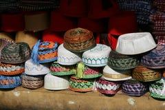 egypt fez hatt Royaltyfri Foto