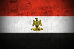 egypt flaggagrunge vektor illustrationer