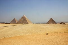 Egypt - Giza Royalty Free Stock Image