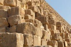 egypt giza pyramid Fotografering för Bildbyråer