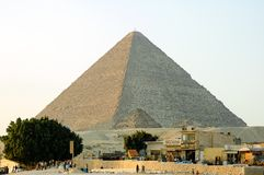 egypt giza pyramider Arkivbild