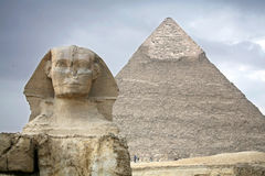 Egypt, Giza, pyramids. Stock Photos