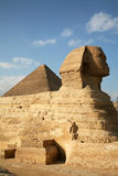Egypt, Giza, pyramids. Stock Image