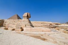 egypt giza sphinx Royaltyfria Bilder