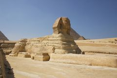 Egypt - Giza - sphinx Stock Images