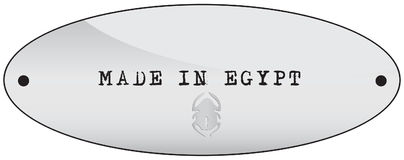 egypt gjorde stock illustrationer