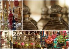 Egypt glass souvenirs Stock Image