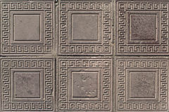 Egypt or Greece ornament pavement Royalty Free Stock Photography