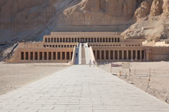 egypt hatshepsut świątynia fotografia stock