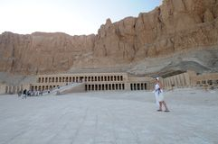 egypt hatshepsut świątynia Zdjęcia Stock