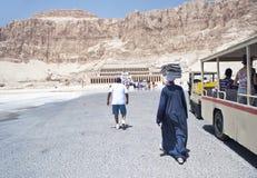 egypt hatshepsut Luxor świątynia Zdjęcie Royalty Free