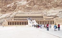 egypt hatshepsut Luxor świątynia Zdjęcia Royalty Free