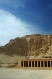 egypt hatshepsutluxor tempel Arkivbild