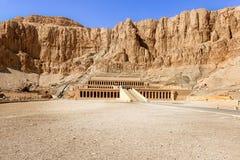 egypt hatshepsutluxor tempel Arkivfoton