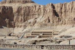 egypt hatshepsuttempel arkivbilder