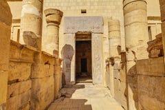 egypt hatshepsuttempel Royaltyfri Fotografi