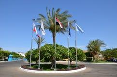 egypt hotell Royaltyfri Bild