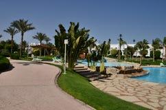 egypt hotell Arkivbild