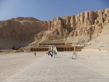 Egypt, North Africa, Temple of Queen Hatshepsut. Travel to Egypt ,North Africa,Valley of the Kings Temple of Queen Hatshepsut Stock Photography