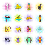 Egypt icons set Stock Photo