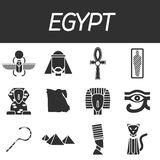 Egypt icons set Royalty Free Stock Photography