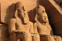 egypt ii pharaohramesses royaltyfria foton